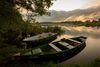 Sonnenuntergang, Boote, Foto: Florian Läufer