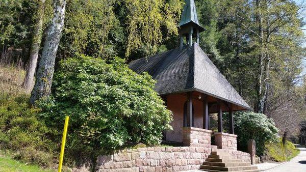 Nothelferkapelle an der Schwarzenkopfstraße in Seebach