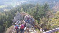 Hohfelsen mit Ausblick nach Seebach