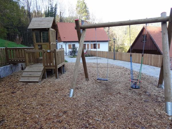 Spielplatz am Hilsenhof im Ortsteil Grimmerswald