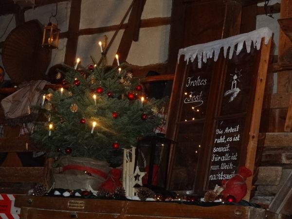 Weihnachten in Vollmer´s Mühle in Seebach