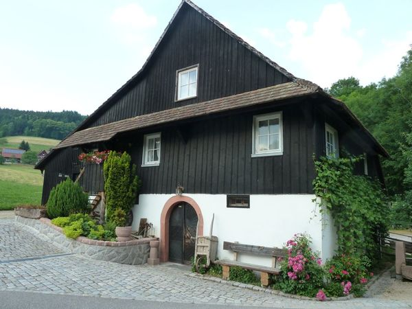 Blick auf Vollmer´s Mühle in Seebach