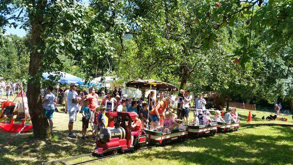 Kinderspass beim Mühlenfest in Vollmer´s Mühle in Seebach
