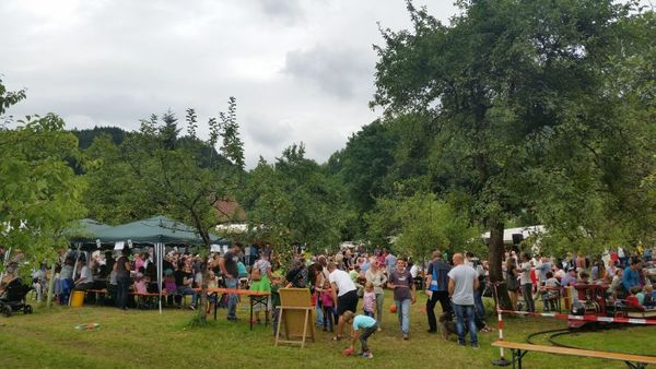 Beim Mühlenfest in Vollmer´s Mühle in Seebach