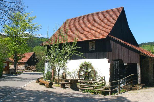 Vollmer´s Mühle im Ortsteil Grimmerswald in Seebach