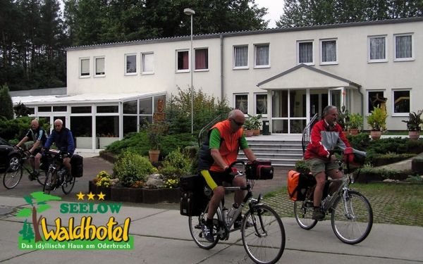E-Bike - Ladestation im Waldhotel Seelow