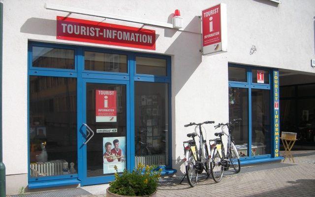 Fahrradverleih und E-Bike - Ladestation in der Tourismus-Information Oderbruch und Lebuser Land