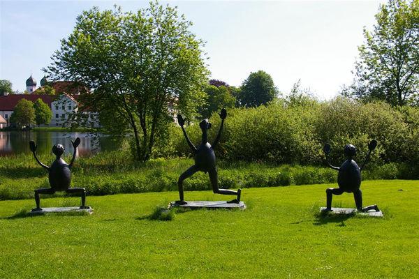 Skulpturen des Heinrich-Kirchner-Skulpturenweges