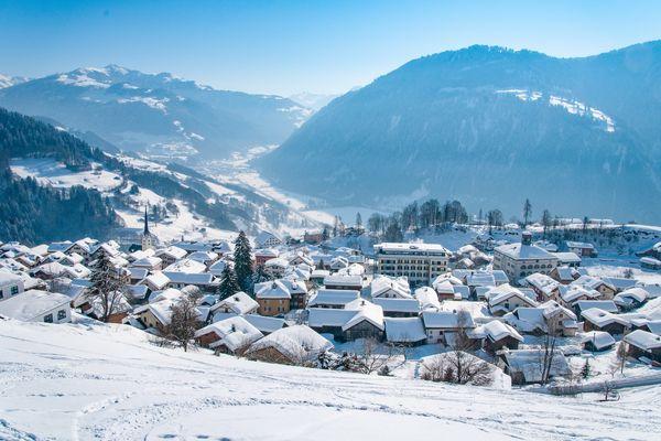Dorf Seewis
