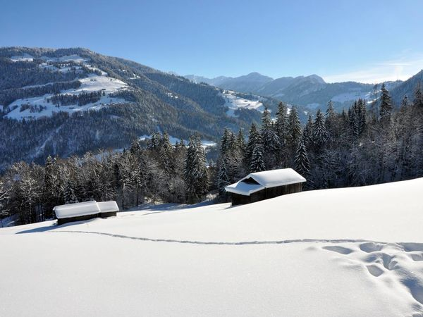 Blick Richtung Bündner Rheintal mit Calanda