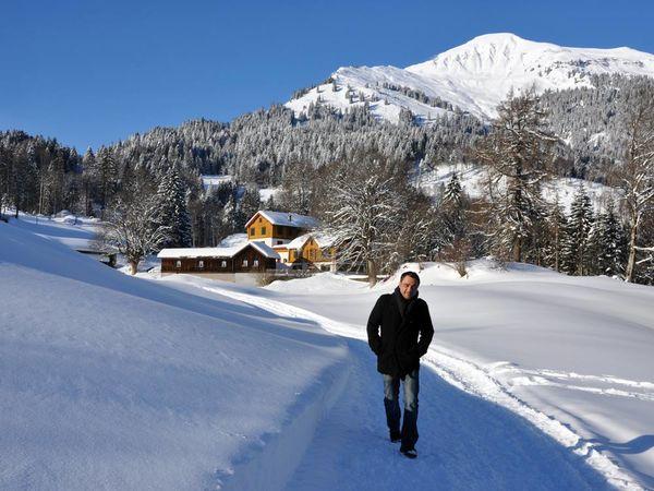 Romantischer Winterwanderweg nach Fadära.