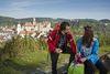 Blick von der Josefkapelle auf Sigmaringen