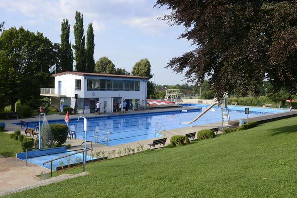 Das Freibad in Simbach am Inn