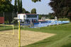 Beachvolleyball im Freibad in Simbach am Inn