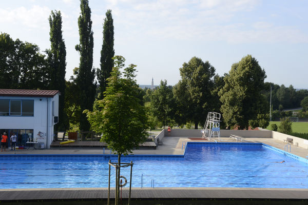 Wasserspaß im Freibad in Simbach am Inn