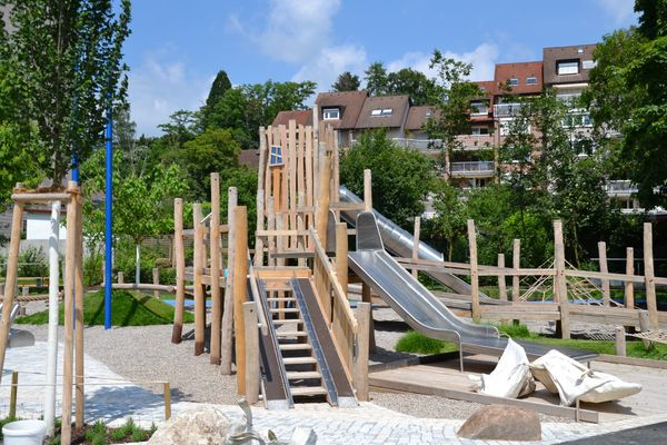 Kinder-Abenteuerspielplatz