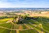 Burg Steinsberg aus der Vogelperspektive
