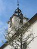 Kirchturm der ev. Kirche Sinsheim