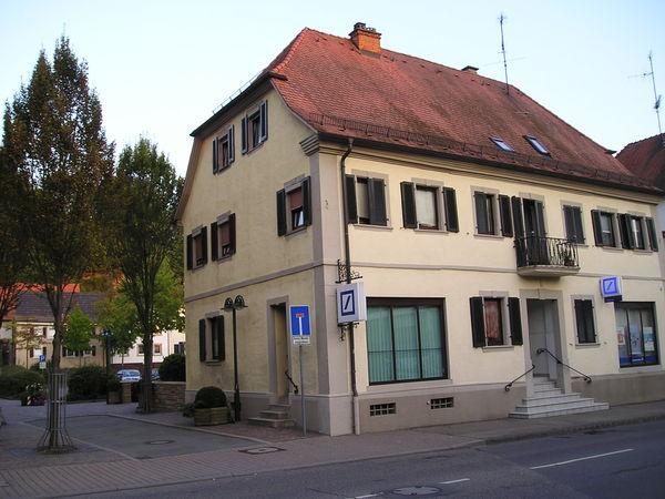 Fürstlich Leiningensches Amtshaus