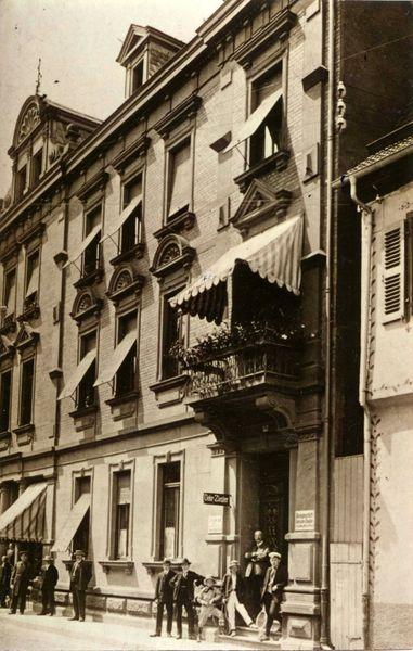 Haus Ziegler um 1900