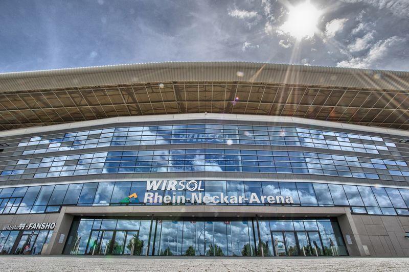 Eingang PreZero Arena