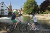 Radler am Großen Teich in Soest