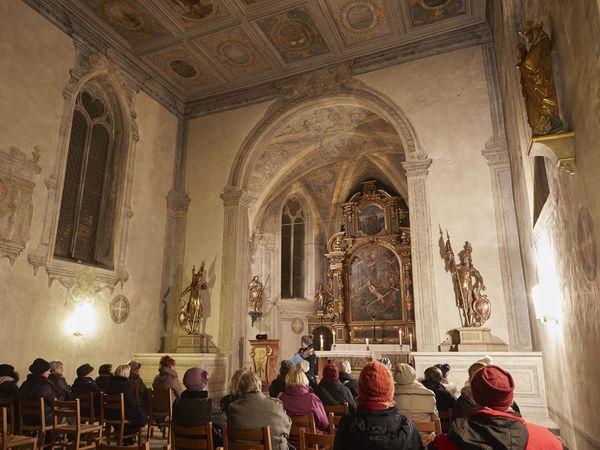 St. Peter's Chapel inside, Solothurn