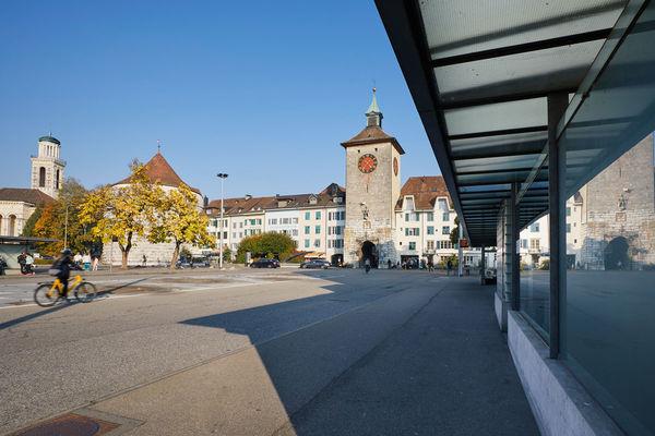Amthausplatz Bieltor Solothurn