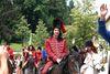 Die Panduren des Freiherrn von der Trenck beim historischen Pandurenfest in Spiegelau