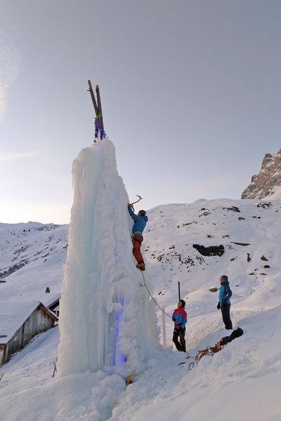 Eiskletterturm Partnun