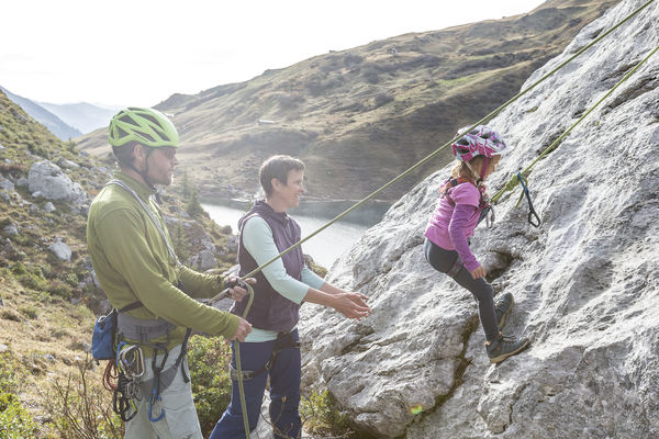 Familien-Klettergarten Partnunsee