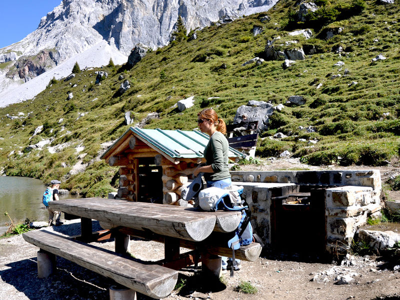 Grillplatz Partnunsee