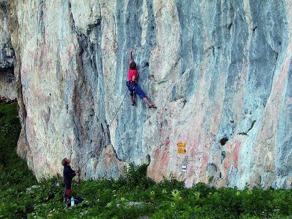 Klettergarten Weberlisch Höhle