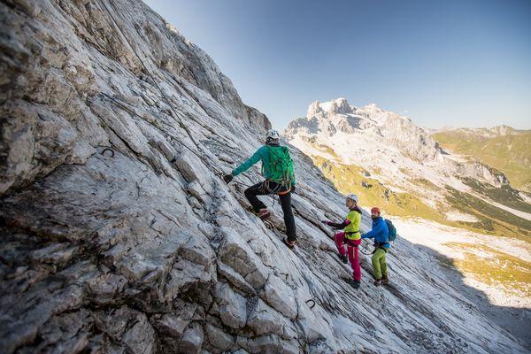 Klettersteig Gauablickhöhle