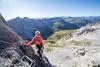 Klettersteig Partnunblick in St. Antönien