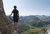 Panorama Klettersteig Partnunblick