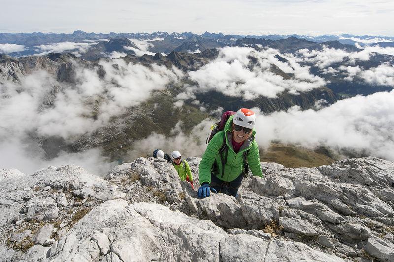 Klettersteig Sulzfluh : Klettersteig sulzfluh st antönien