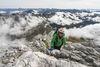 Klettersteig Sulzfluh - Gipfel