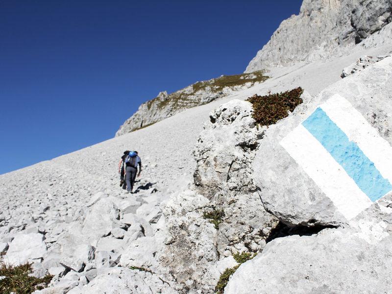 Klettersteig Sulzfluh : Klettersteig sulzfluh partnun prättigau tourismus