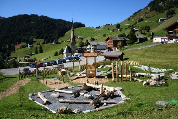 Steinbockspielplatz