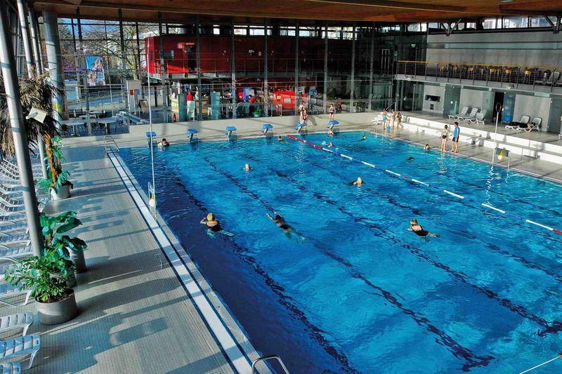 das blau recreational swimming pool tourismus zentrale saarland