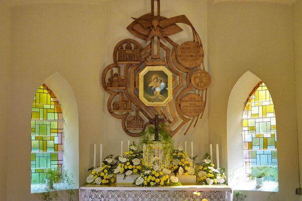Altar Geistkircher Kapelle