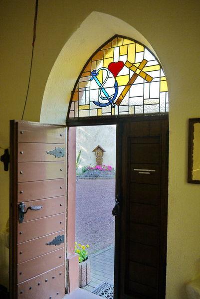 Eingangsportal Geistkircher Kapelle