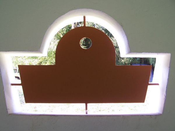 Detailansicht historisches Waschhaus Oberwürzbach