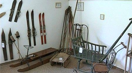Wintersportmuseum im Skiliftstüble