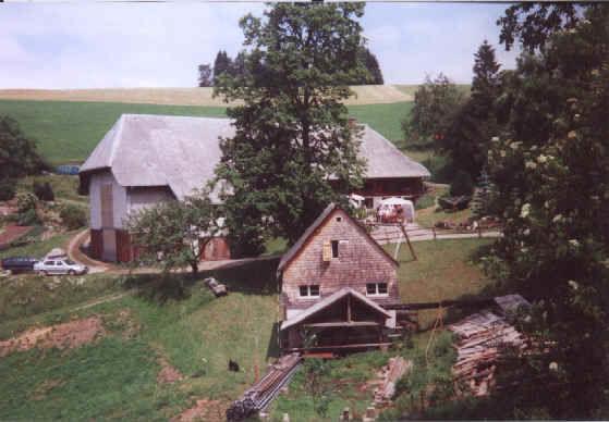 Danielhof mit Mühle