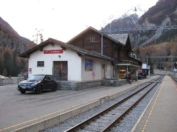 Bahnhof St. Niklaus