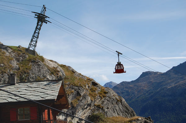 Cable car St.Niklaus - Jungen