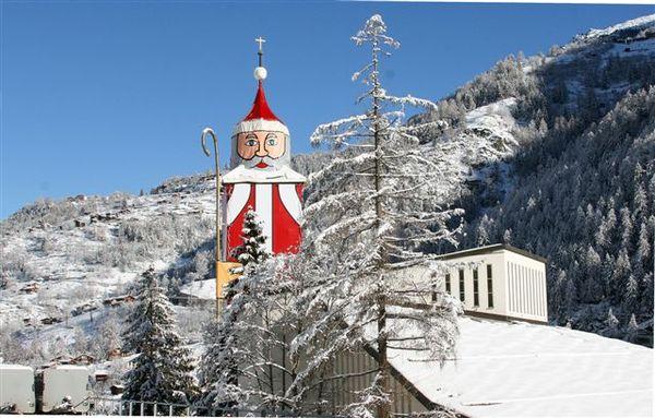 Grösster Nikolaus in St.Niklaus
