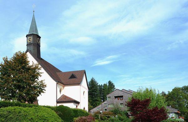 Wallfahrtskirche Maria Lindenberg von Süden